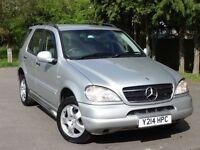Mercedes Benz ML320, 2 YEARS WARRANTY, M Class AUTOMATIC Auto, FSH, like x5 x3 rav4 cr-v 270 ML 320