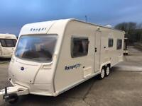 2008 6 berth fixed bed twin axle