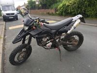 Stolen and recovered Yamaha WR 125cc (swap for crosser yz/kx/cr/rm/ktm