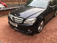 MERCEDES C250 SPORT 2.1 CDI DAMAGED REPAIRABLE HPI CLEAR UNRECORDED 2011