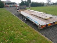 Brian James car trailer with ramps