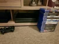PS4 PRO plus 17 games