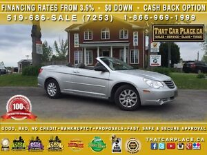2008 Chrysler Sebring LX-$72/Wk-Convertible Soft Top-AUX/CD/MP3-