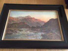 Highland chromolithographs