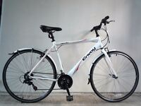 "(2139) 700c 21"" Lightweight Aluminium APOLLO HYBRID SPORT BIKE BICYCLE Height: 180-195cm(5'11""-6'5"")"