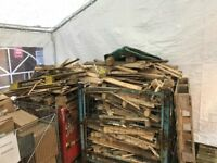 Free broken pallets - ideal for kindling (contains nails)