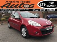 2010 RENAULT CLIO I-MUSIC 1.1 ** RENAULT SERVICE HISTORY ** FINANCE AVAILABLE WITH NO DEPOSIT **