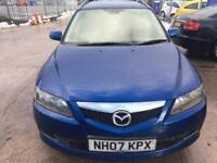 Mazda6 2.0 TD TS 5dr cheap car 3 Month mot 2007 (07 reg), Estate