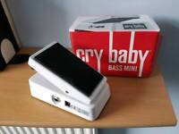 Dunlop mini bass wah pedal