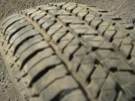 Bridgestone 205-70R-15 tyre for sale 6mm plus