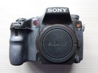 Sony Alpha SLT-A77 Digital Camera plus accessories. Body only