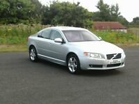 VOLVO S80 SE-LUX-D5 AUTOMATIC (TOP SPEC) 12 MONTHS M.O.T 6 MONTHS WARRANTY (FINANCE AVAILABLE)