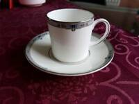 Wedgwood Amherst Coffee Cups and Saucers Set of 6