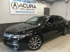 2015 Acura TLX V6 FWD ELITE   OFFLEASE   BOUGHT+SERVICEDHERE   O
