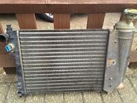 Saxo / Peugeot 106 radiator 1100 / 954 cc