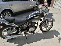 2016 Lexmoto Arizona 125cc NOT Honda SYM Suzuki Yamaha 125cc low miles Keeway Suzuki