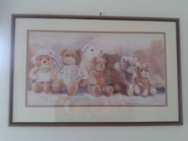 Teddy Bear Parade Tapestry