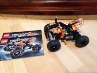 Lego Technic Quad bike 9392 with instructions