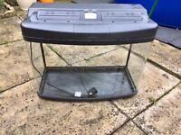 Large Fish Tank with matching cabinet £40