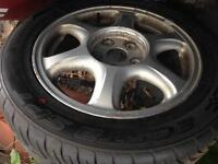 Lexus is200 alloy wheel with brand new tyre 205 55 16