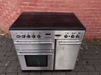 Rangemaster Cooker Ceramic hobs*Electric*(mod:toledo 90) + Extractor Can Deliver