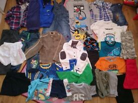 Boys clothes age 3-4 years
