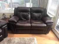 New DFS reclining electric sofas