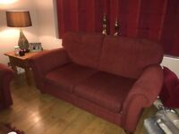 Two piece sofa for sale - bought from M&S. Double sofa bed. Non smoking/no pets home