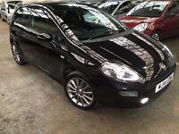 Fiat Punto 1.4 Jet Black II 3dr p/x considered 2014 (14 reg), Hatchback
