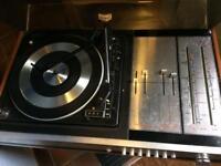 Vintage record player ITT ka2010