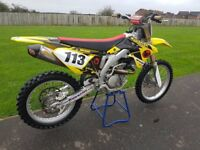 2012 Suzuki RMZ 450 Motocross MX 18hrs RMZ450