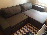 MADE Mayne Dark Grey Right Corner Sofa Bed