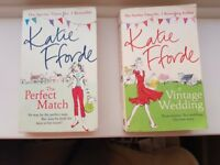 Katie Fforde 2 books: The Perfect Match & A Vintage Wedding