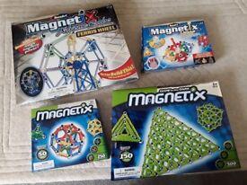 Magnetix building sets