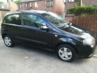 Chevrolet Kalos 2008 1.2L / Low mileage / Long MOT / £550 o.n.o