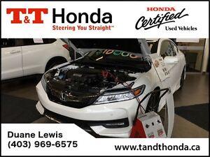 2016 Honda Accord Touring V6*Navi, LED Lights, Heated Seats*