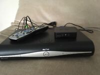 Sky+HD box with on demand wireless connector & remote