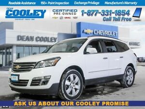 2017 Chevrolet Traverse LTZ/SUNROOF/HTD & COOLED SEATS/POWER LIF