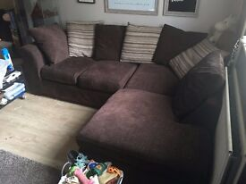 chaise sofa /corner sofa, good condition *pick up only*