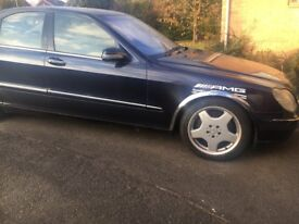 Mercedes 500s Auto Saloon (The Beast) Wolf in sheeps clothing!!