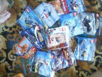 12 packs unopened Lego 5-12yrs