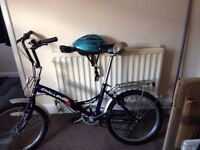Ladies' folding bike in good condition