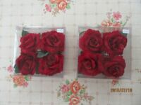 ROSE FLOWER DESIGN NAPKIN HOLDERS