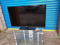 SAMSUNG LCD TV WITH REMOTE AND STAND