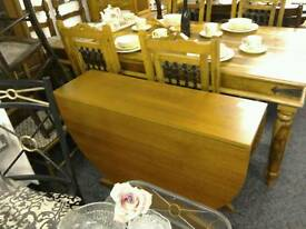 Drop leaf table #26168 £40 PLEASE NOTE NO CHAIRS