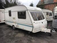 Bailey ranger 450 1996 2 berth end bathroom caravan