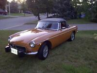 1974 MGB Roadster Mark III - $11,500.00