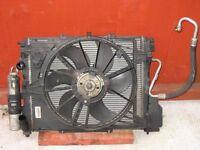 RENAULT CLIO 1.2 16v 2001- 2006 AIR CON RADIATOR FAN