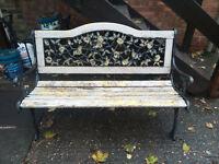 Out door garden bench