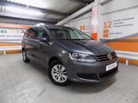 Volkswagen Sharan SE NAV TSI BLUEMOTION TECHNOLOGY DSG (grey) 2017-09-04